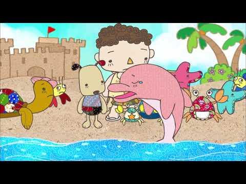 水果冰淇淋--故事--陽光下的微笑01--海豚先生來了