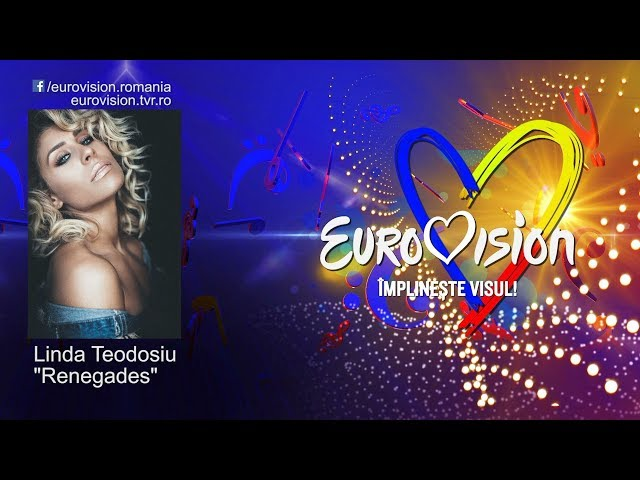 Linda Teodosiu - Renegades   Eurovision România 2019