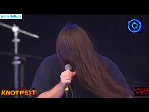 Cannibal Corpse The Wretched Spawn Live KnotFest México 2017