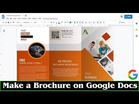 brochure template google docs youtube. Black Bedroom Furniture Sets. Home Design Ideas