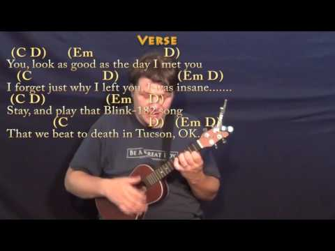 Closer (The Chainsmokers) Ukulele Cover Lesson in G with Chords/Lyrics