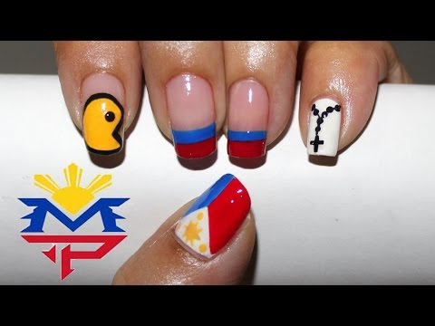 Philippine flag nail art images philippines nail art prinsesfo Images