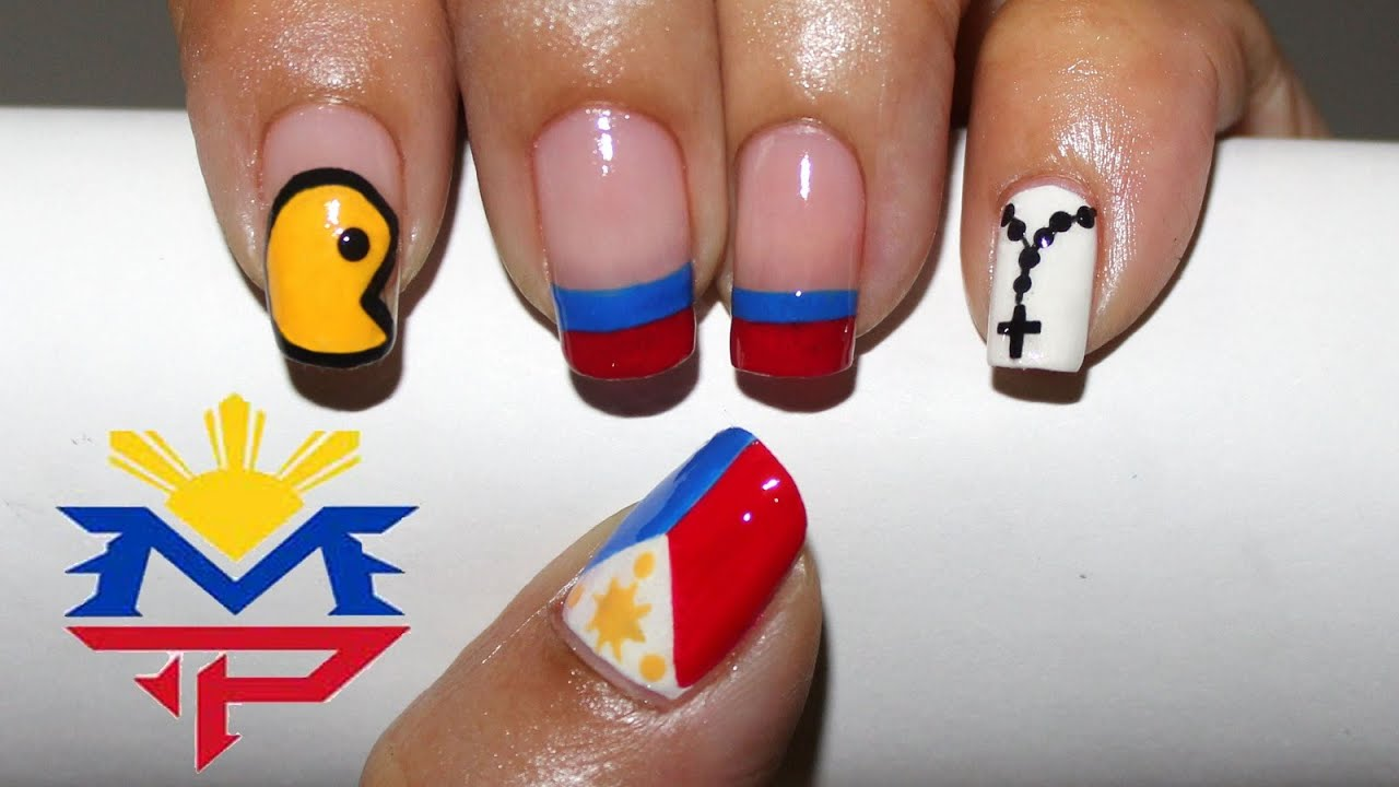 Manny pacquiao boxing nail art philippines realasianbeauty manny pacquiao boxing nail art philippines realasianbeauty youtube prinsesfo Images