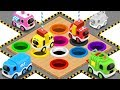 Coloring Street Vehicles Toys - Colors Videos for Children