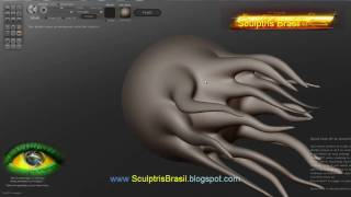 Tutorial Sculptris  - básico BR