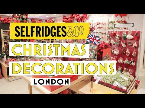 SELFRIDGES  London: LUXURY CHRISTMAS DECORATIONS | Decorazioni Natale | 2019 |             LONDRA