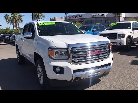 2016 Gmc Canyon Las Vegas Henderson North Summerlin Clark County Nv 00471677 Centennial Toyota