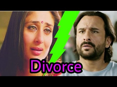 Saif Ali Khan to divorce Kareena Kapoor |Breaking news bolly