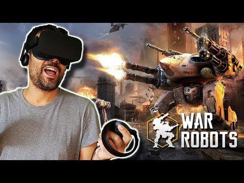 Download Youtube: WAR ROBOTS EN REALIDAD VIRTUAL   Oculus Rift Gameplay en Español