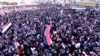 عشرات آلاف العراقيين يتظاهرون ضد الفساد