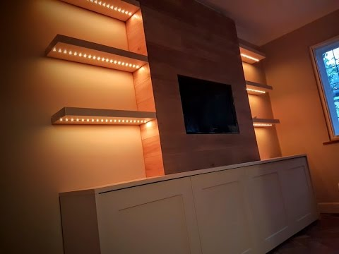 WOW - How to build a Luxury Feature TV Media Unit - A timelapse tutorial not to miss.