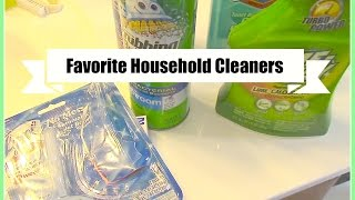 My Favorite Household Cleaning Supplies