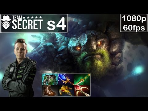 s4 (Secret) - Tiny Funny Gameplay | with Misery + AdmiralBuldog | MMR [Dota 2 Pro] @60fps