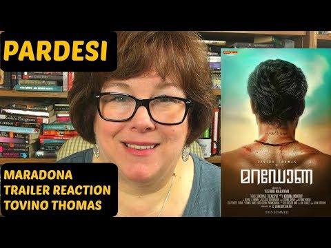 Maradona Trailer Reaction   Tovino Thomas