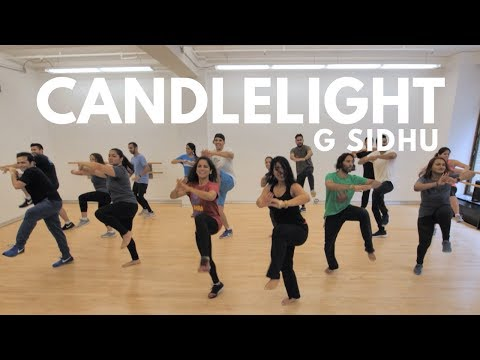 Candlelight  G Sidhu  Beginner Bhangra Students Dance Cover New York City