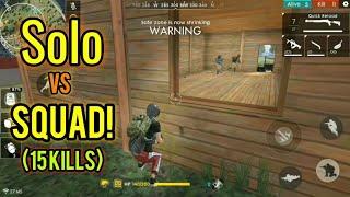 Grenade Kills for DAYYYS (Solo Vs Squad) - Free fire Battlegrounds
