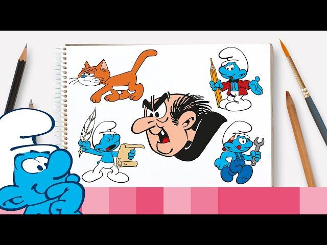 Hoe teken je Gargamel en zijn vrienden • De Smurfen