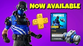NEW PLAYSTATION PLUS 'Carbon Pack' Now Available in Fortnite
