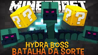 Batalha da Sorte - Hydra Boss Desafio do Lucky Block Minecraft