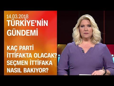 Seçmen ittifaka nasıl bakıyor? - Türkiye'nin Gündemi 14.03.2018 Çarşamba