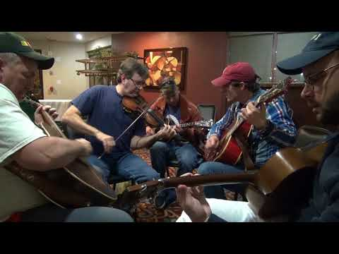2018-01-07 Sugar Creek jam with  Marty Elmore -  2018 Colorado Fiddle Championships