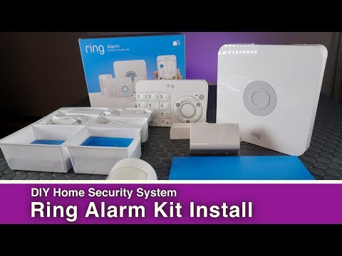 DIY Home Security System: Ring Alarm Kit