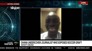 Journalist who exposed African football corruption shot dead in Ghana
