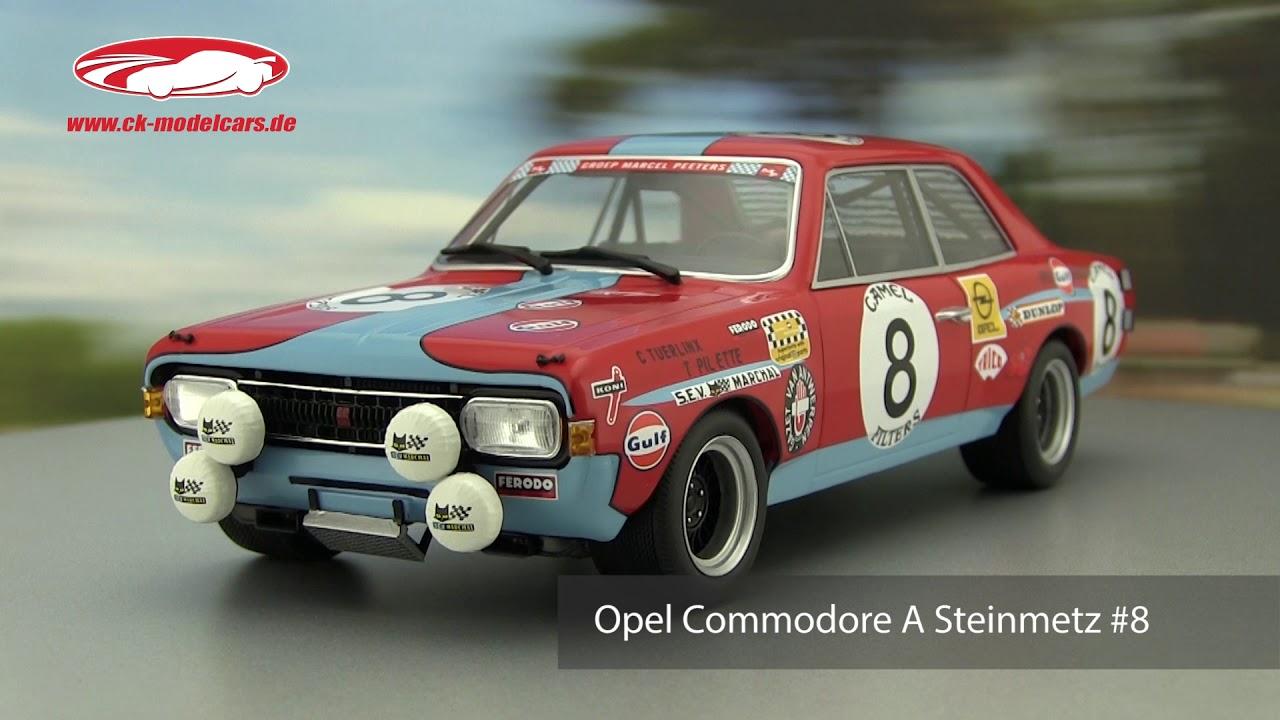 1:18 Minichamps Opel Commodore A Steinmetz #7 24h Spa 1972