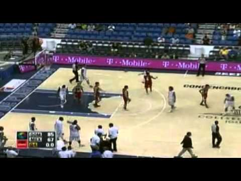 Centro Basket Masculino 2012 Republica Dominicana vs Mexico Highlights