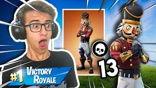 I BOUGHT THE NEW SKIN OF THE NUTS AND THREW THE FINO!! Fortnite: Battle Royale