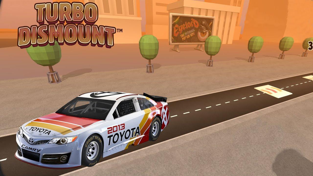 Turbo Dismount - NASCAR - YouTube