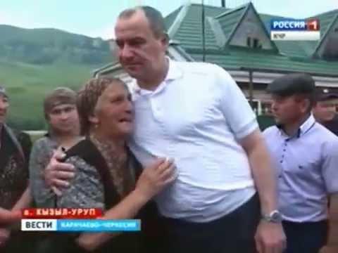Рабочий визит Рашида Темрезова в Урупский район