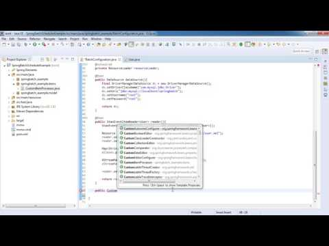 Spring Boot Batch Scheduler - Spring batch tutorial for