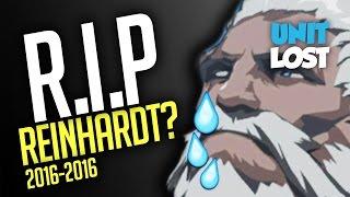 Overwatch - RIP Reinhardt!? New Tank Meta INCOMING!