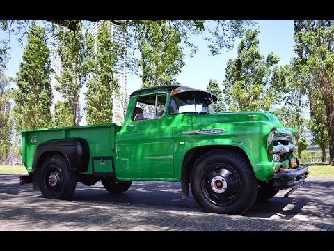 Camin Chevrolet 4400 Modelo 1957 112017 Youtube