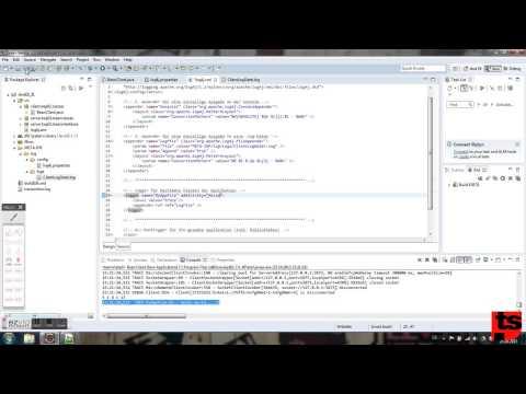 EJB 3.1 - Konfigurieren der Entwicklungsumgebung (1) - Log4j (Client/Eclipse)
