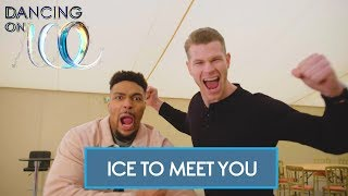 Jordan and the Finalists Play Ice to Meet You! | Dancing On Ice 2018