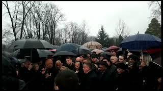 Govor sina Mihajla nad grobom Šabana Šaulića - 22.02.2019.