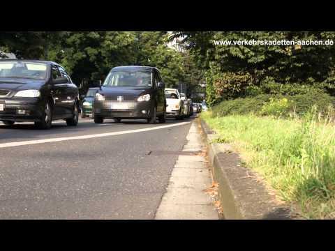 Verkehrskadetten Aachen Unfallstellenabsicherung Aachen Ponttor