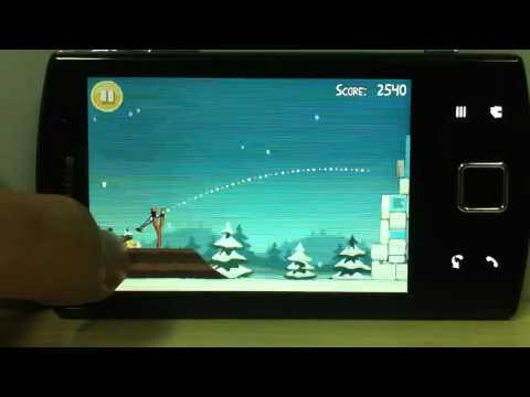 Angry Birds Seasons on Garmin-ASUS A50