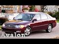Reviews Toyota Avalon 2004