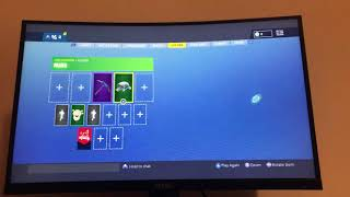 Fortnite season 1 account for sale ( Mako glider, party bus, Snowflake)