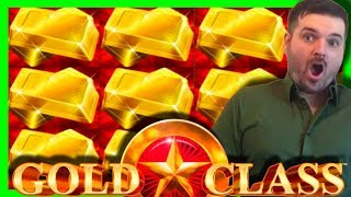 The Train JUST WOULDNT END! Car AFTER Car! HUGE WIN! Gold Class Slot Machine W/ SDGuy1234
