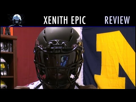 Xenith Epic Football Helmet Review - Ep. 193
