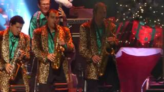 """Rock This Town"" Brian Setzer Orchestra@Caesars Maximus Theater Atlantic City 11/21/15"