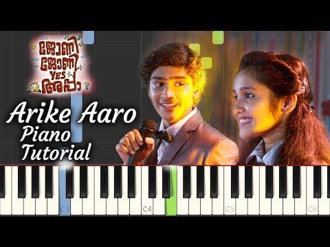 Arike Aaro Piano Tutorial | Johny Johny Yes Appa | Malayalam Song