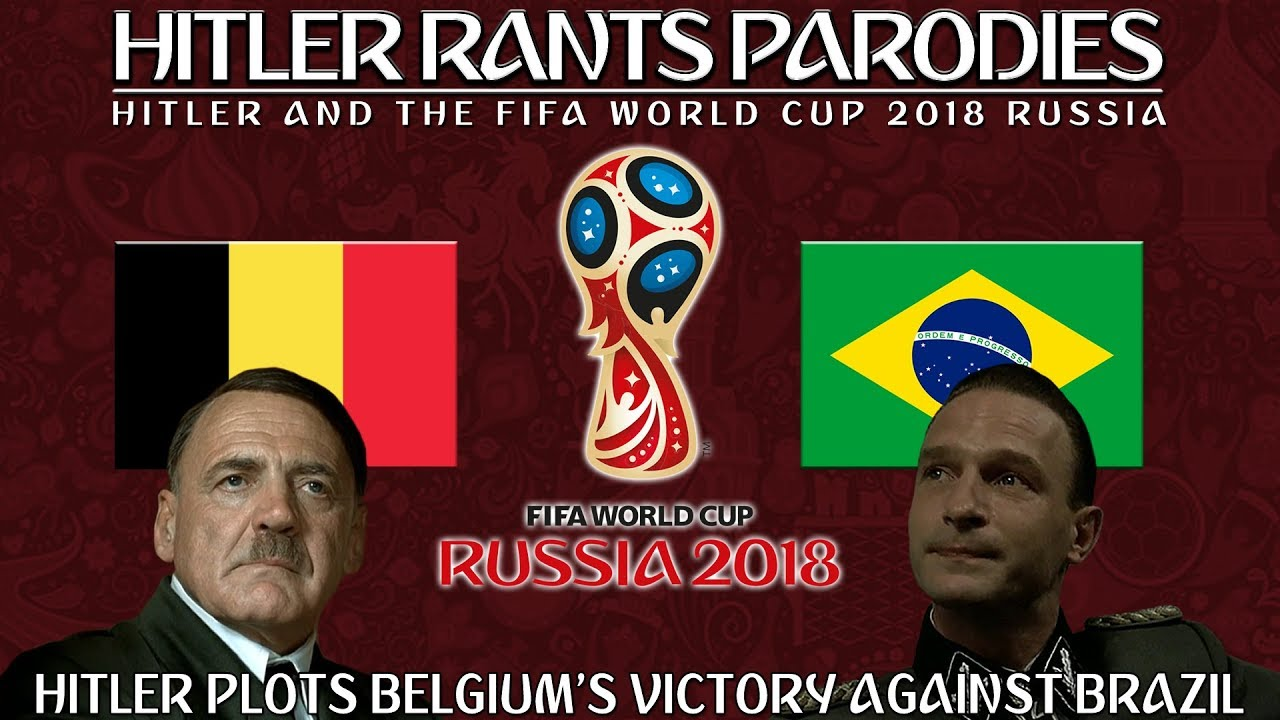 Hitler plots Belgium's victory against Brazil in the World Cup