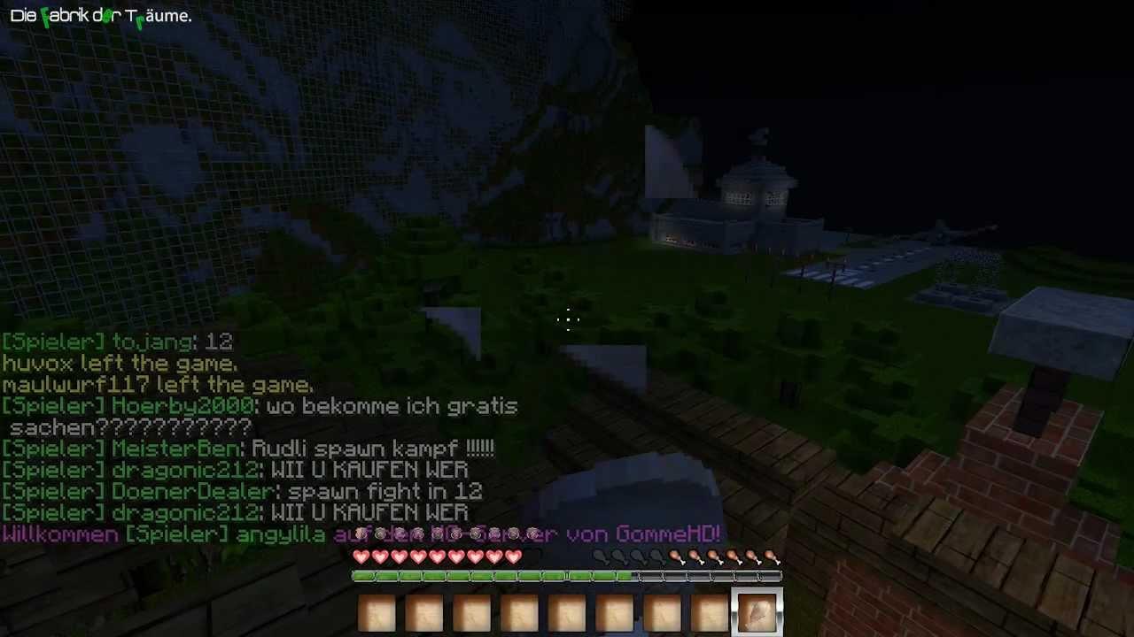Minecraft Hunger Games DeutschHD YouTube - Minecraft hunger games auf deutsch