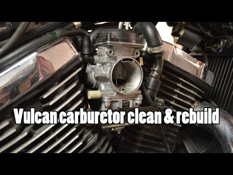 How-To: Kawasaki Vulcan VN800 Carburetor clean rebuild 1995-2006