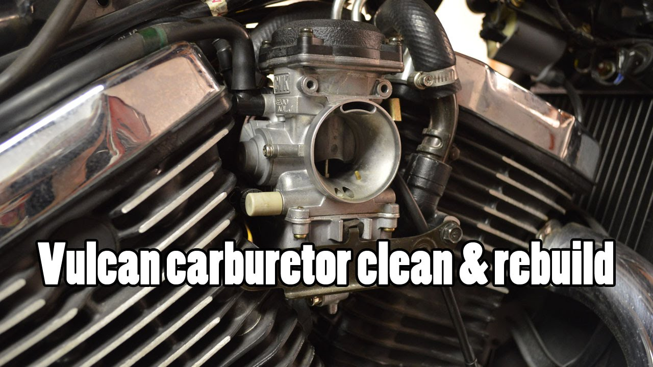 How-To: Kawasaki Vulcan VN800 carburetor clean & rebuild